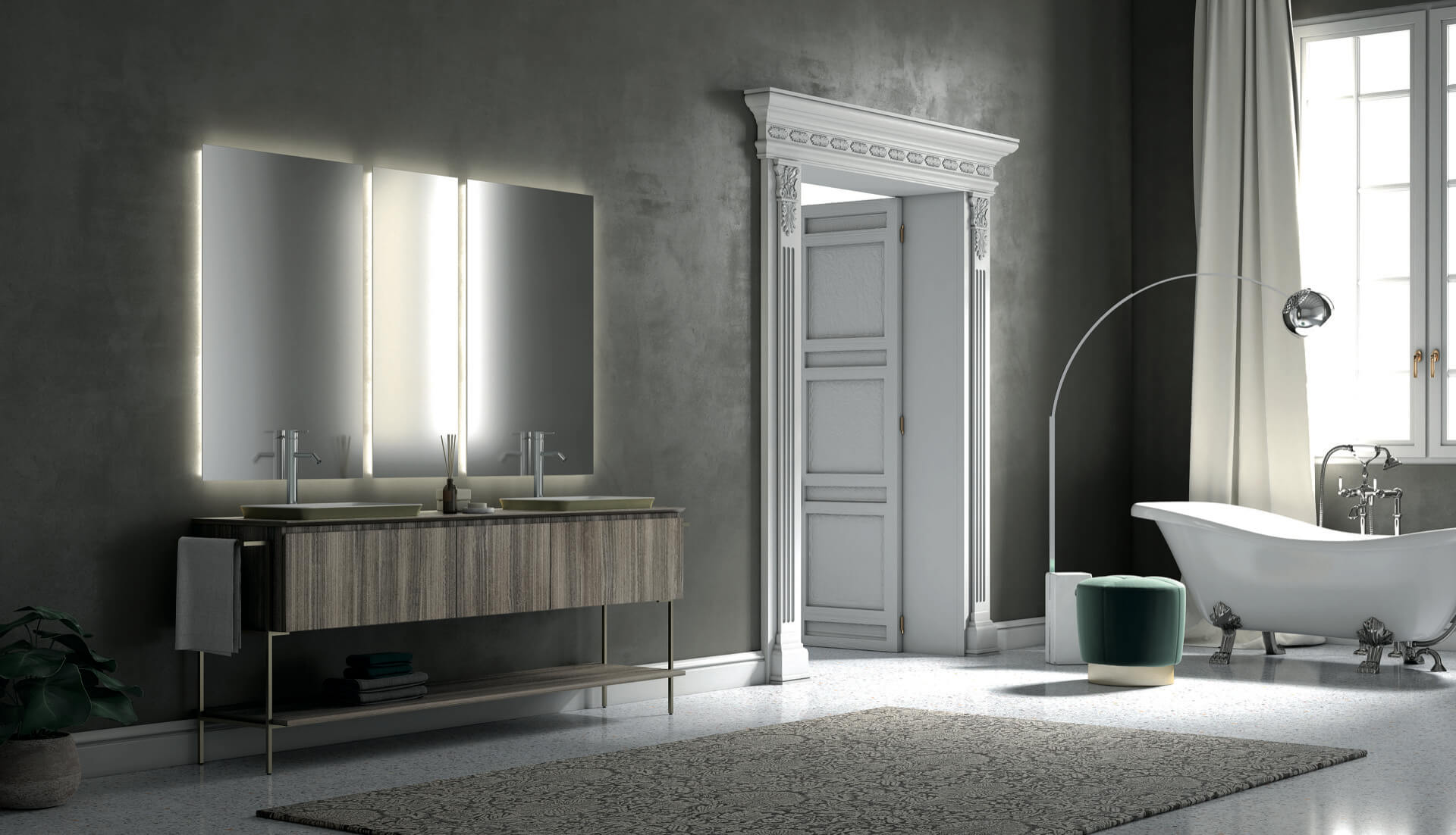 Bagno Puntotre Bathrooms Furniture And Bath Furnishing Ideas