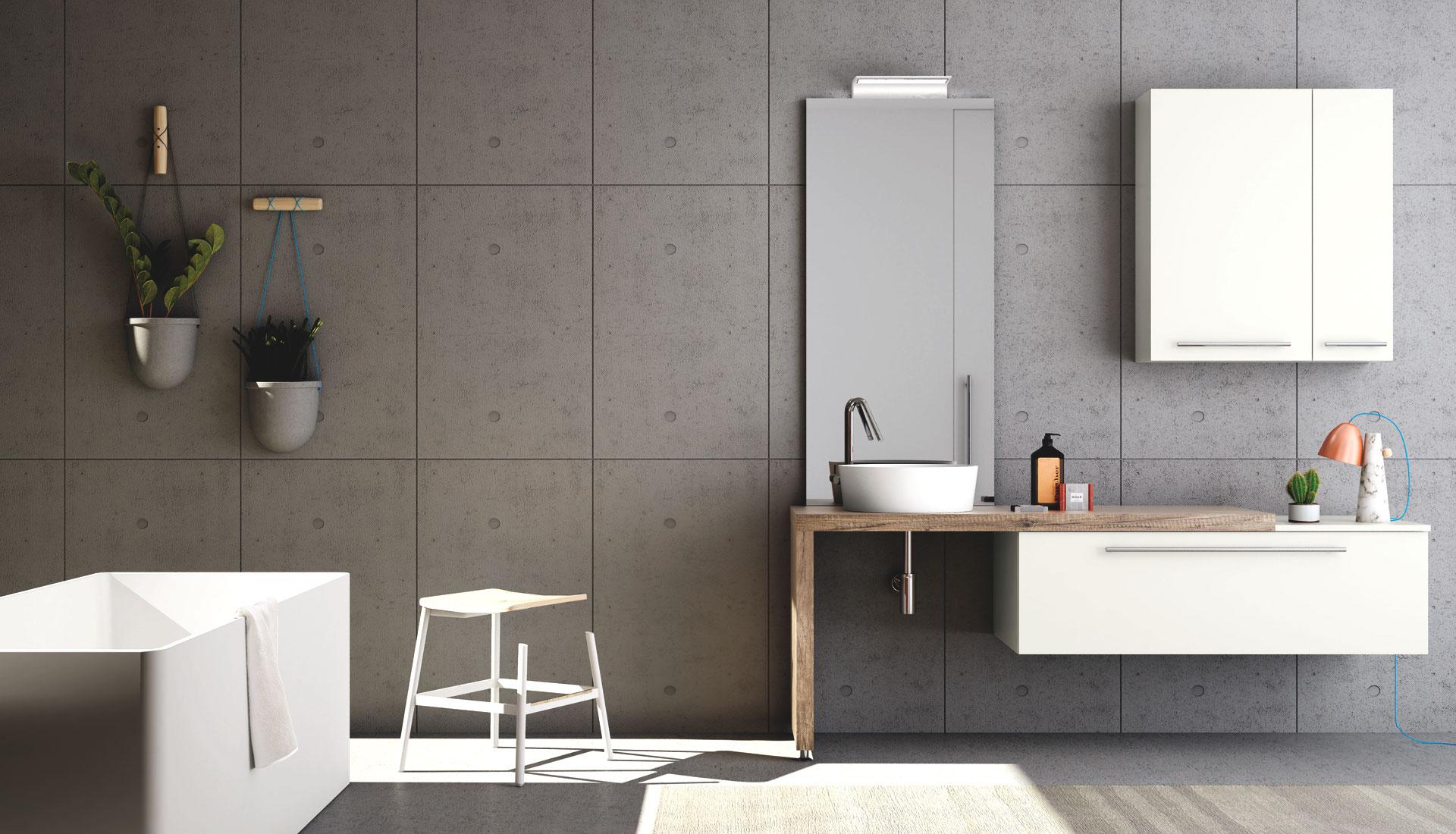 Set Da Bagno Moderno : Set accessori bagno moderno stile shabby chic per il bagno