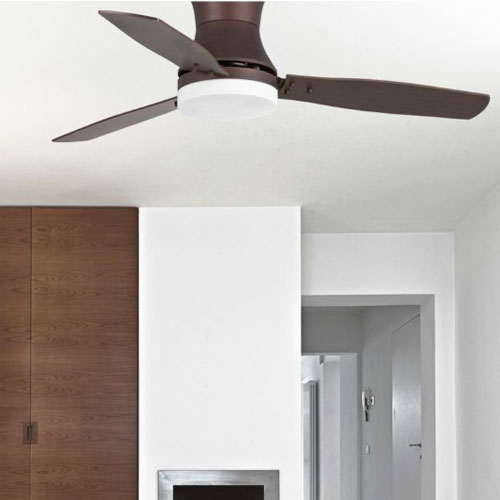 Pale X Soffitto Faro Tonsay 33386 Ventilatore Da Soffitto Marrone