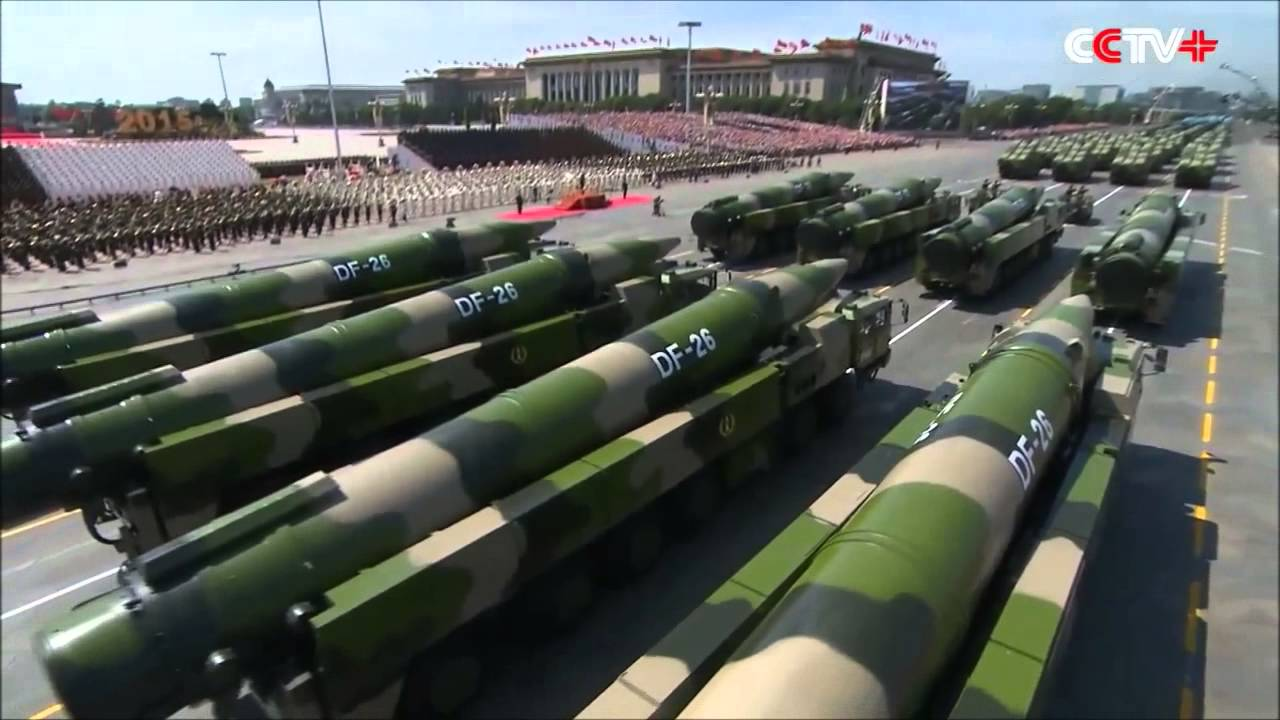 chine - missiles asia_DF-26-missiles-at-2015-WWII-victory-parade-in-Beijing