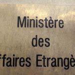 quai d'orsay - imperative-le-ministere-des-affaires-etrangeres-recommande-aux-francais-de-suspendre-tout-projet-de-voyage_5006007