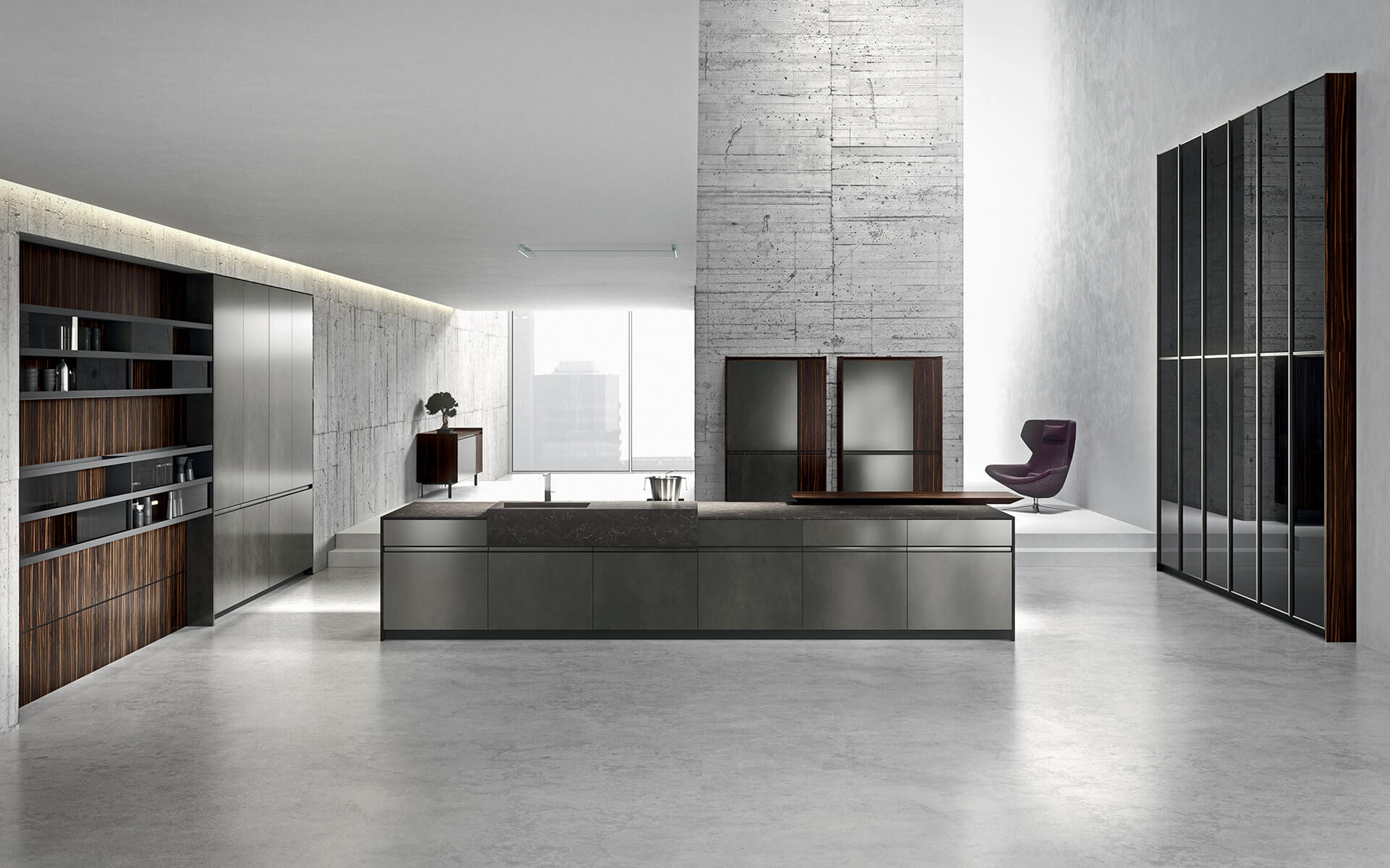 Meuble Tv Made In Design Modern Kitchens Made In Italy Arrital Ak 05 Tailormade