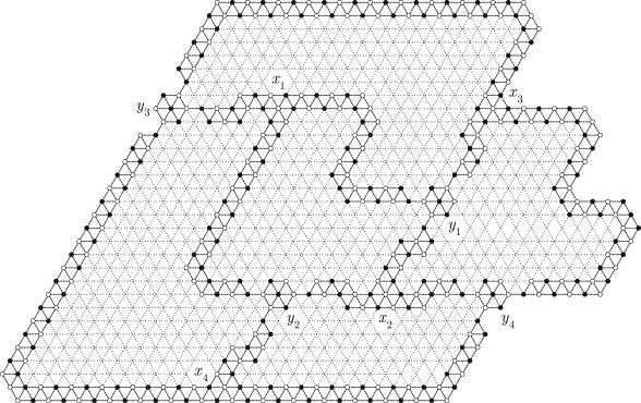 Hamiltonian properties of triangular grid graphs - ScienceDirect