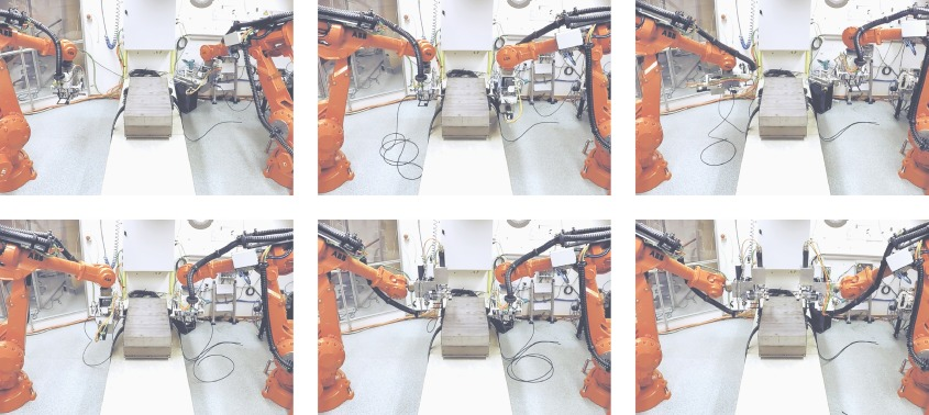 Robotized stator cable winding - ScienceDirect