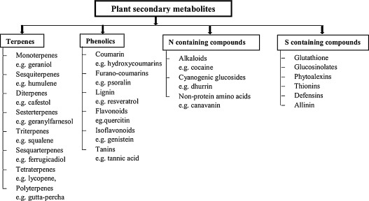 Plant growth regulator mediated consequences of secondary