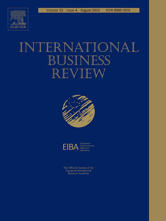 International Business Review ScienceDirect