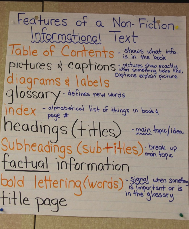 Exemplars/Anchor Charts - Room 12 - The Adventure Continues!