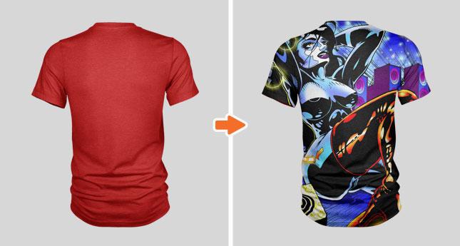 Men\u0027s Crew Neck T-Shirt Mockup Templates Pack by Go Media
