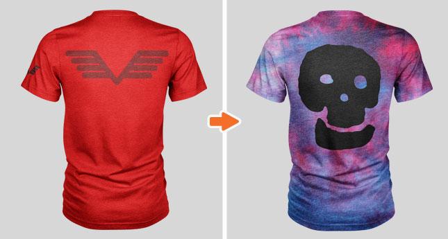 Men\u0027s Triblend Pocket T-Shirt Mockup Template Pack