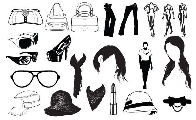 Fashion Vector Pack for Adobe Illustrator