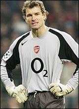 Lehmann has signed on with Arsenal for another season