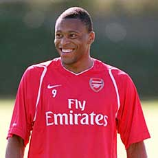 Arsenal's game against Portsmouth could be Julio Baptista's last for the club