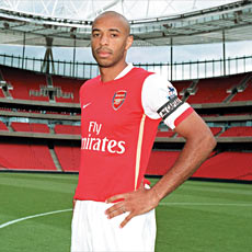 Henry sees success for Arsenal next season