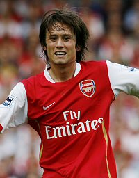 Tomas Rosicky had a decent first year with Arsenal despite constant injuries
