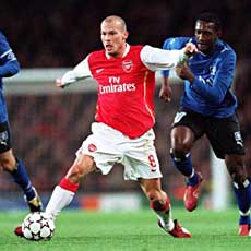 Fredrik Ljungberg: Right Midfielder of the Decade