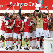 Arsenal won the Emirates Cup