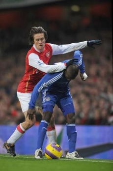 Rosicky was everywhere for Arsenal