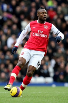 William Gallas needs to respond against Aston Villa