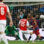 Arsenal eliminated from Champions League despite spirited performance at the Camp Nou