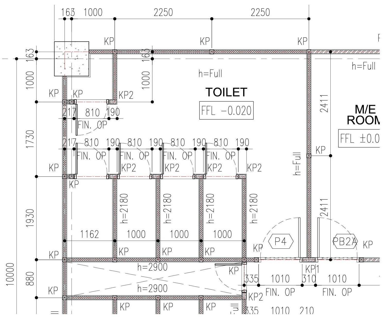 Contoh Gambar Pembangunan Sarjanaku Contoh Gambar Shop Drawing Pasangan Bata Toilet