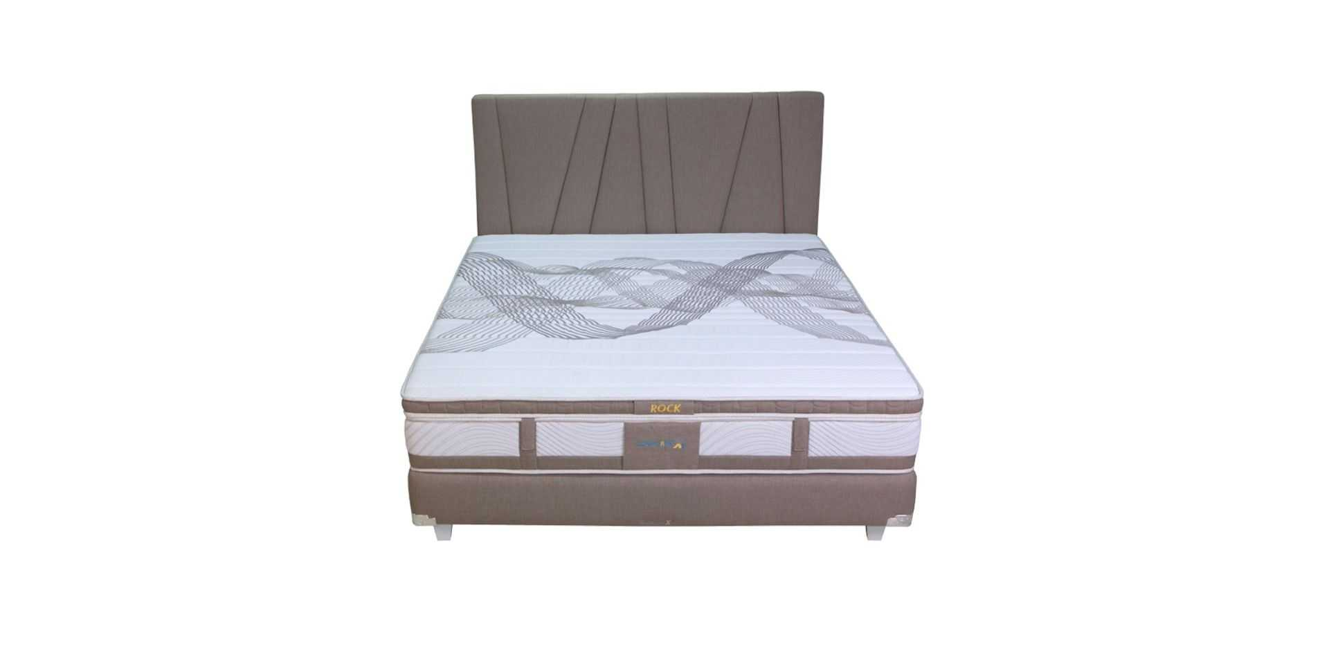 180 X 200 Beds Conforta X5 Bed Set Surface Rock King 180 X 200 Fabelio