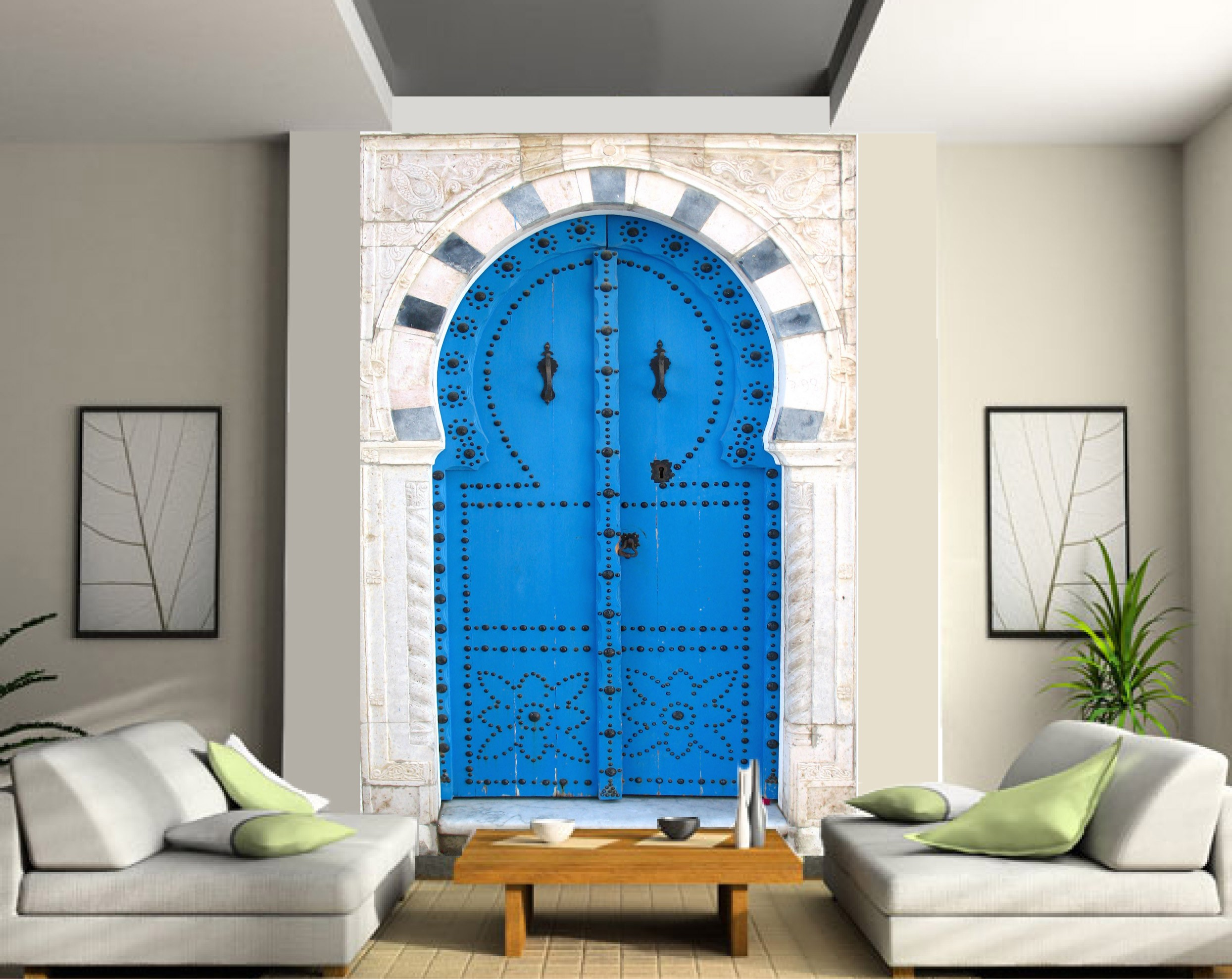 Beautiful Salle De Bain Orientale Bleue Pictures - House Design ...