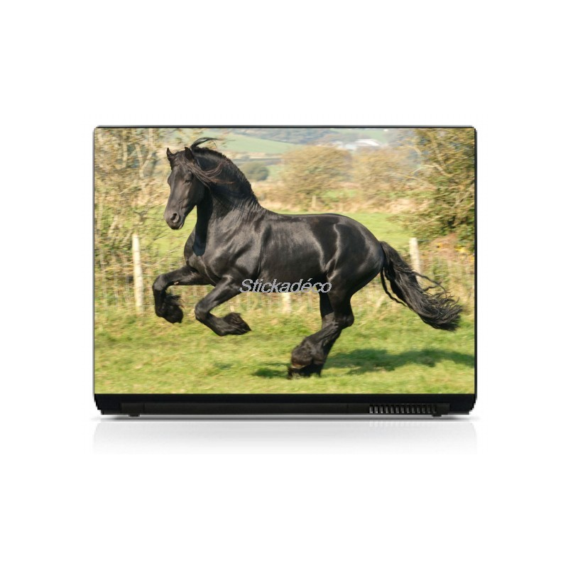 Decoration Ordinateur Stickers Autocollants Pc Portable Cheval - Art Déco Stickers
