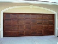 Art-Faux Wall Designs | Wood graining garage doors