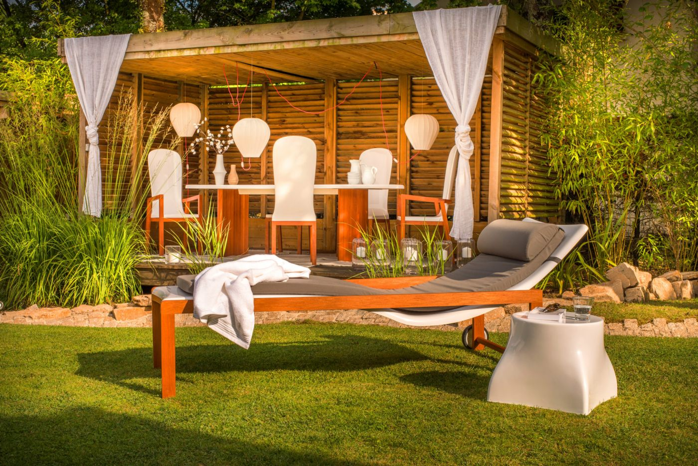 Salon De Jardin Made In France Mobilier Jardin Design Tables Chaises Bain De Soleil Art Mely