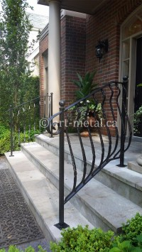 Exterior Railings & Handrails for Stairs, Porches, Decks