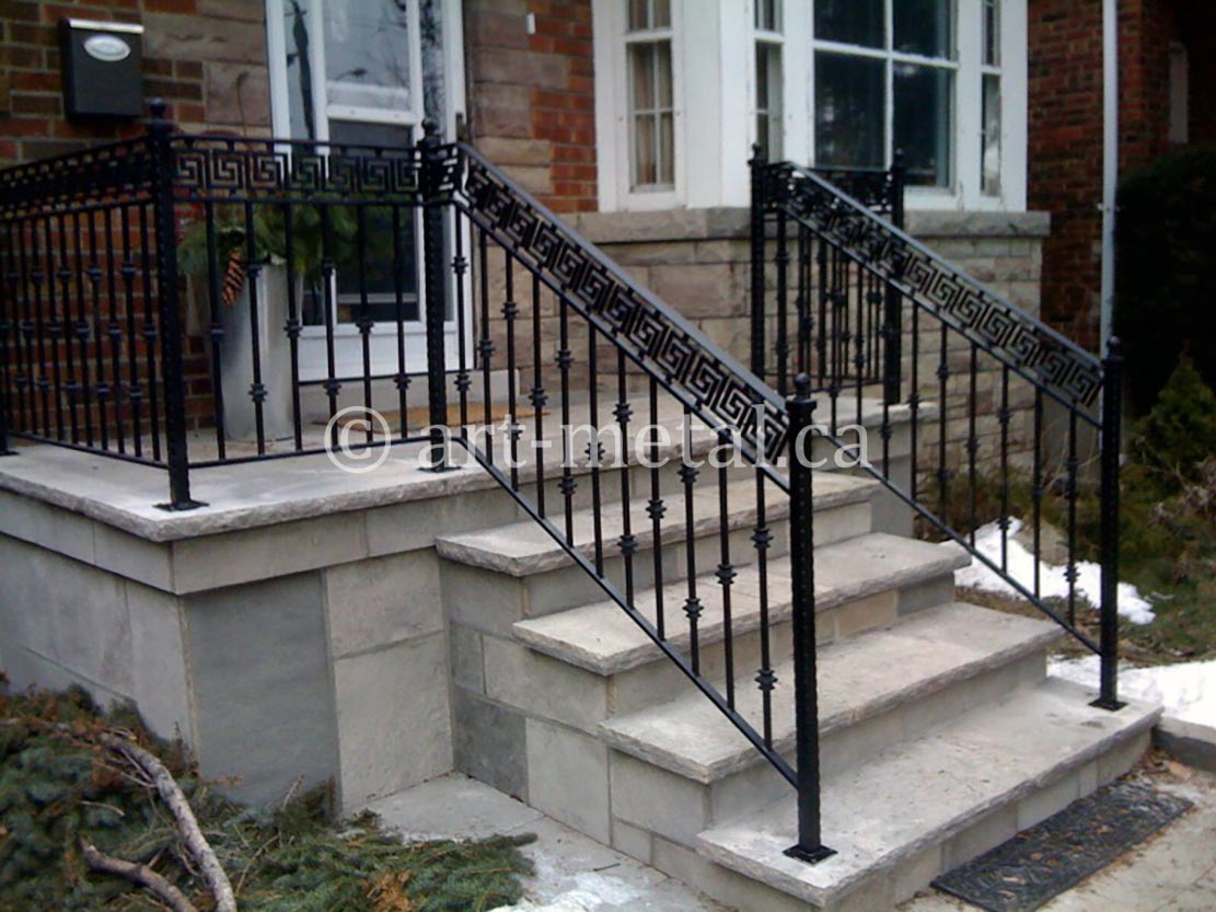 Exterior Railings Handrails For Stairs Porches Decks
