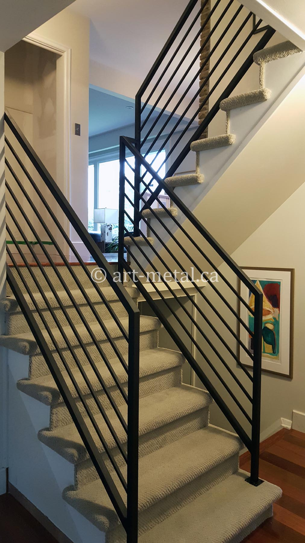 Treppen Innenraum Elegant And Modern Interior Wrought Iron Railings For Stairs