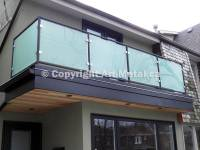 Glass Railing Systems Toronto - Stair, Balcony, Deck ...