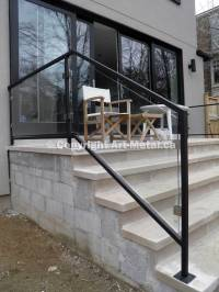 Exterior Railings & Handrails for Stairs, Porches, Decks