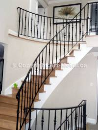 Interior & Indoor Stair Iron Railings, Handrails, Designs