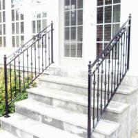 Metal Stair Railings Exterior. outdoor metal stair ...