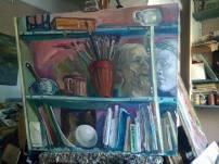 Наталья Моисеева - Полка в моей мастерской