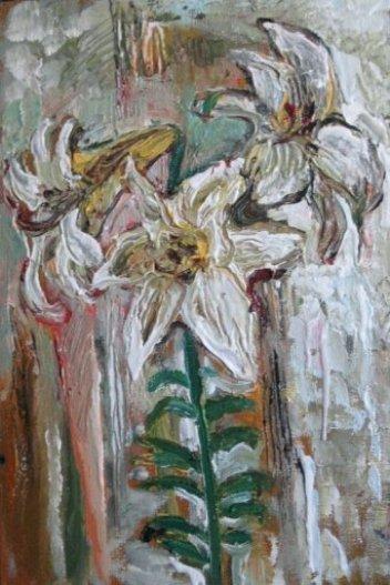 ArtMoiseeva.ru - Flowers - Lilies - Morning - 2009