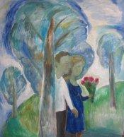 ArtMoiseeva.ru - Light - Blue trees
