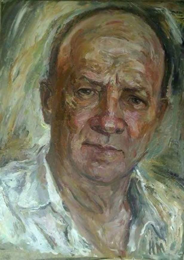"Наталья Моисеева ""Портрет"", 90*70, х.м."