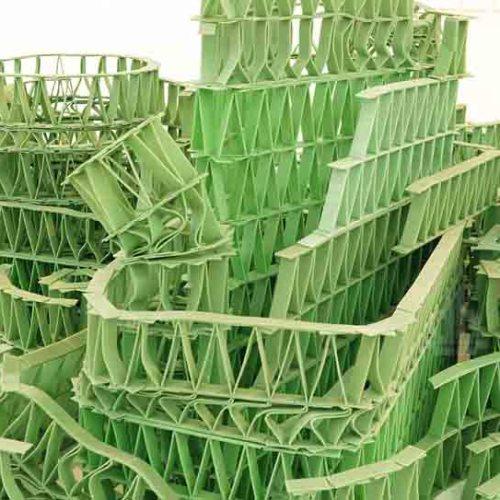 Джереми Лаффон скульптура из жвачек-3