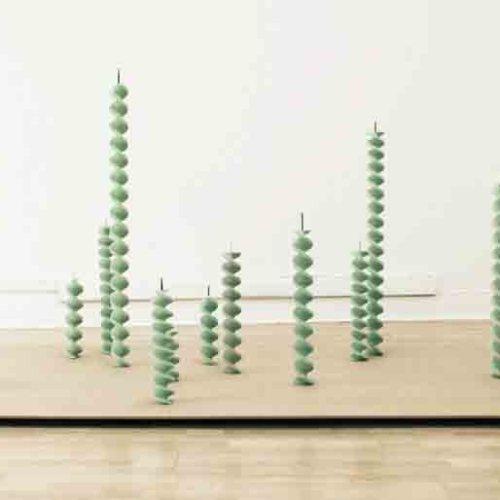 Джереми Лаффон скульптура из жвачек-7