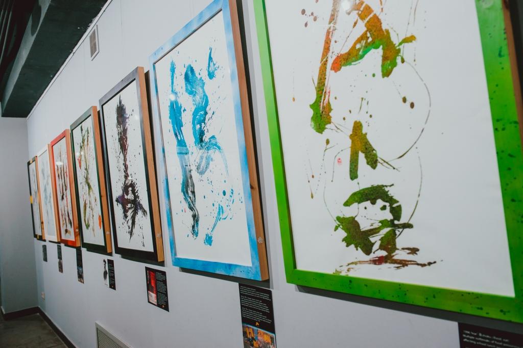 """Открытие выставки """"Neo Calligraphy"""" в арт-центре Я. Гретера"""