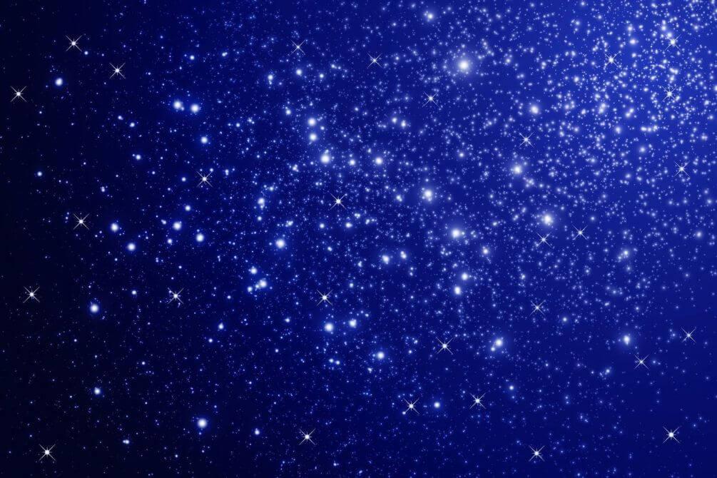 3d Magic Eye Moving Wallpapers Фотообои Quot Синее звездное небо Quot №2612 на заказ под свой