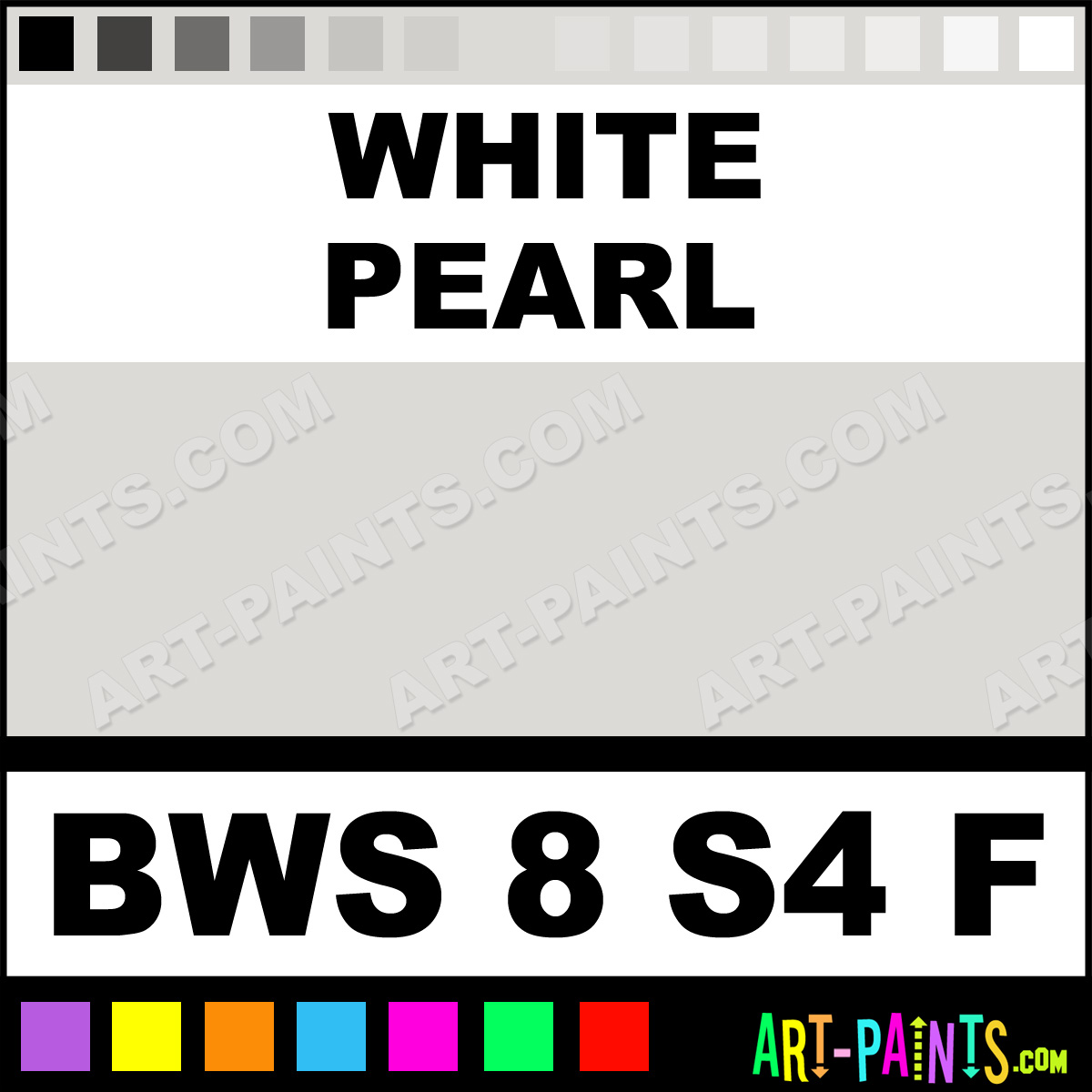 Pearl White Paint Color