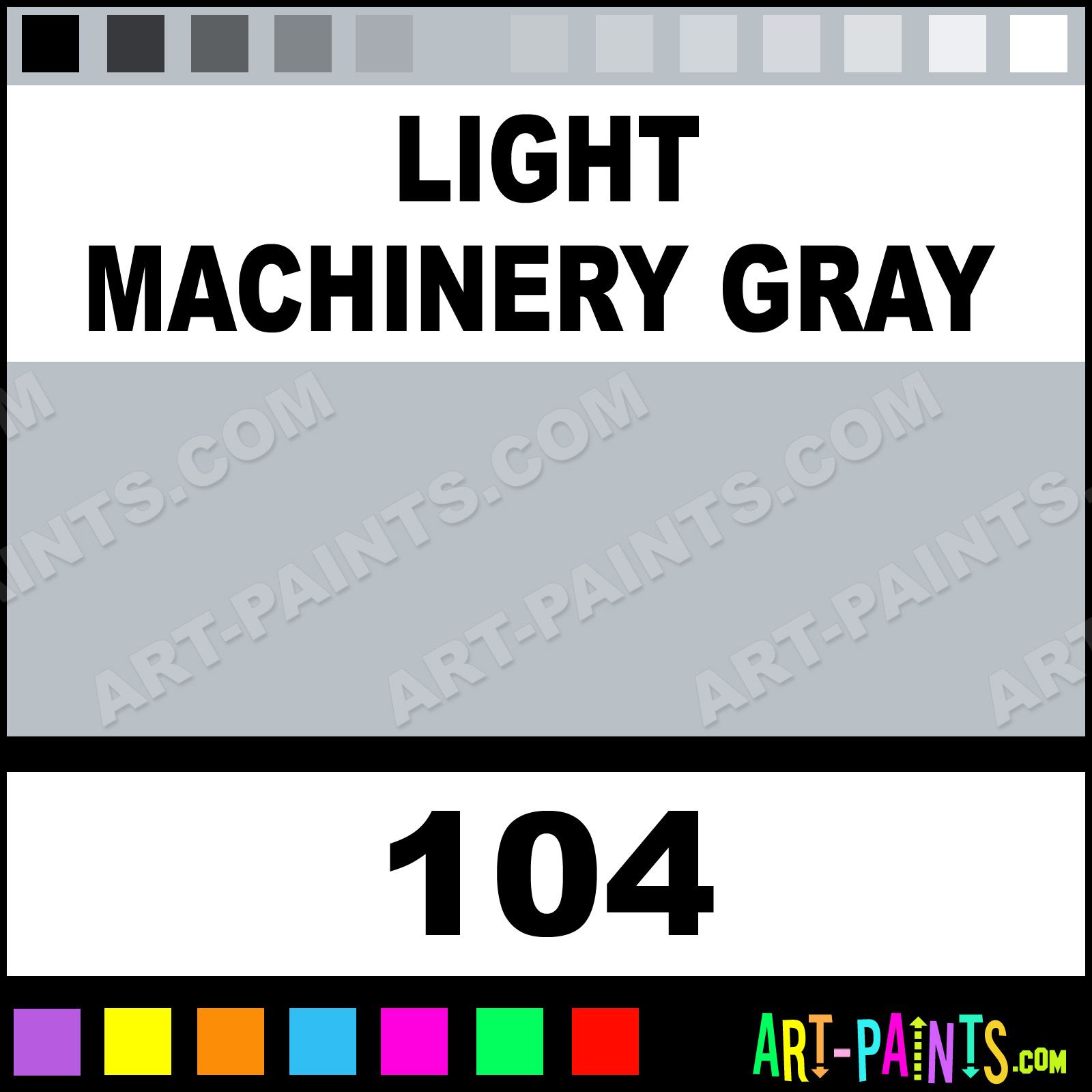 Industrial Grey Paint Light Machinery Gray Industrial Colorworks Enamel Paints