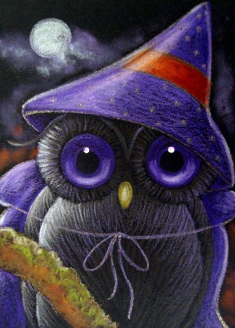 Glitter Animal Print Wallpaper Fantasy Owl Halloween Witch Costume 2 By Cyra R Cancel