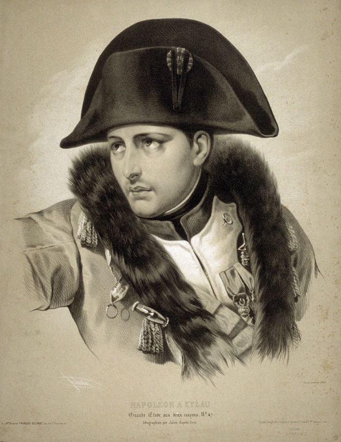 Napoleon Bonaparte Quote Wallpaper Napoleon A Eylau After A Drawing By Gros Bernard Romain