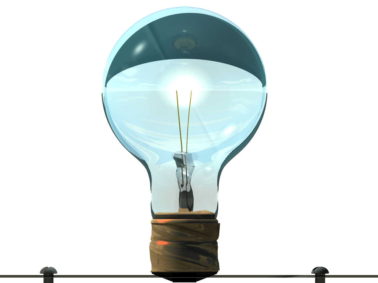 Glowing Light Bulb Png Light Bulb Glow By Swanbrown On Newgrounds