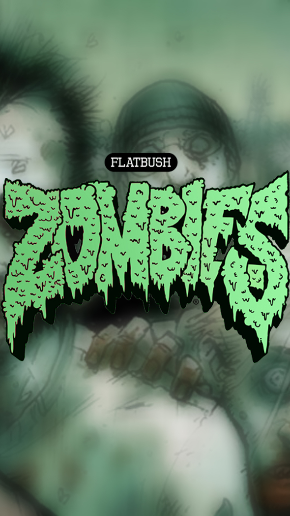 Best Iphone 4 Hd Wallpapers Flatbush Zombies Phone Wallpaper By Grizztin On Newgrounds
